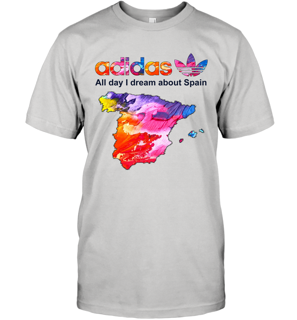 Country Adidas All day I dream about Spain T-Shirt