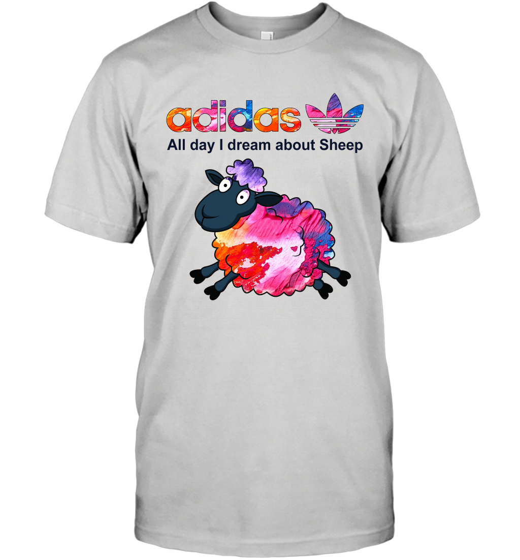 Animal Adidas All day I dream about Sheep T-Shirt