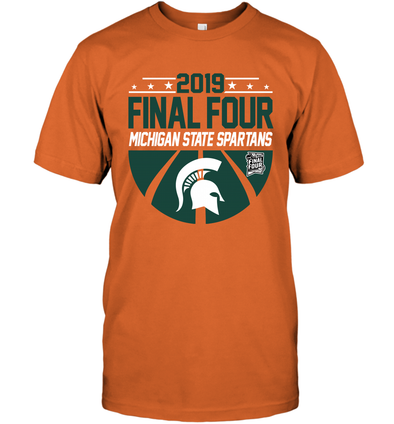 check out 9a264 5394a MICHIGAN STATE SPARTANS 2019 NCAA Men s Basketball Tournament Final Four  Tee Shirt-Apparel-T