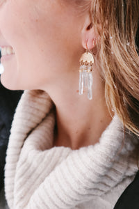 Northstar Crystal Earrings