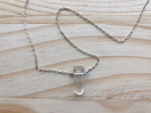 Dakota Raw Crystal Necklace
