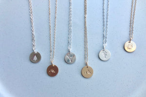 Elements Large Coin Necklace