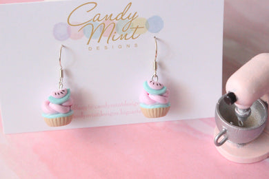 Watermelon Cupcake Dangles