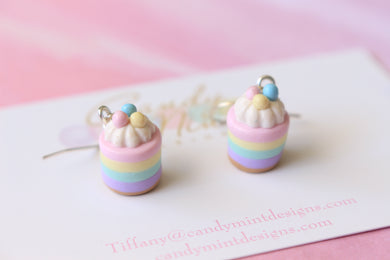 Easter Cheesecake inspired Dangles