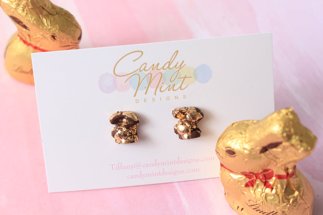 Dark Chocolate Gold Bunnies