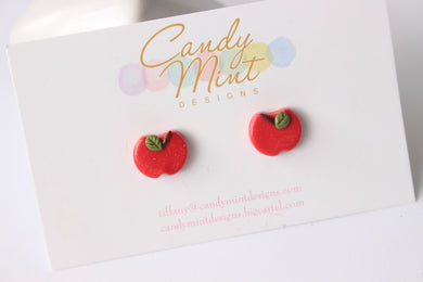 Juicy Apple Studs