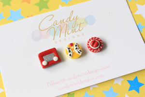 Toy Inspired Studs