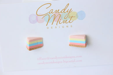 Unicorn Jelly Cheesecake Slice Studs