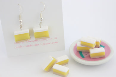 Vanilla Slice Studs and Dangles