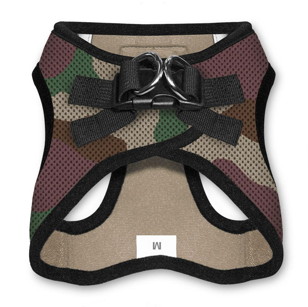 VOYAGER Step-In Air Pet Harness in Camo with Black Trim - Back