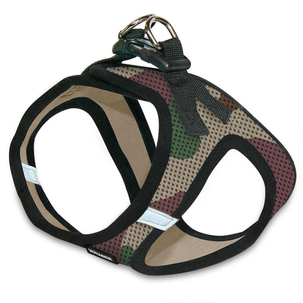 VOYAGER Step-In Air Pet Harness in Camo with Black Trim - Expanded