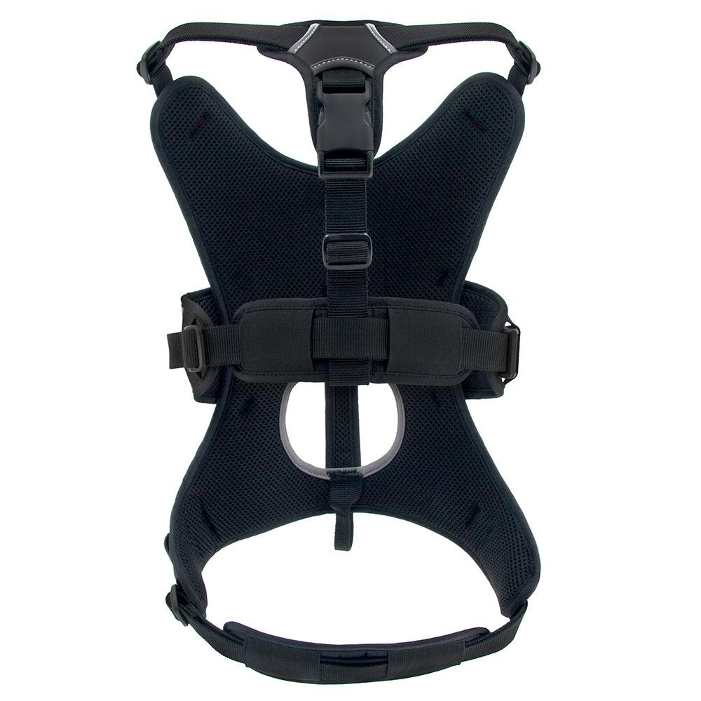 VOYAGER Control Dog Harness in Black - Back