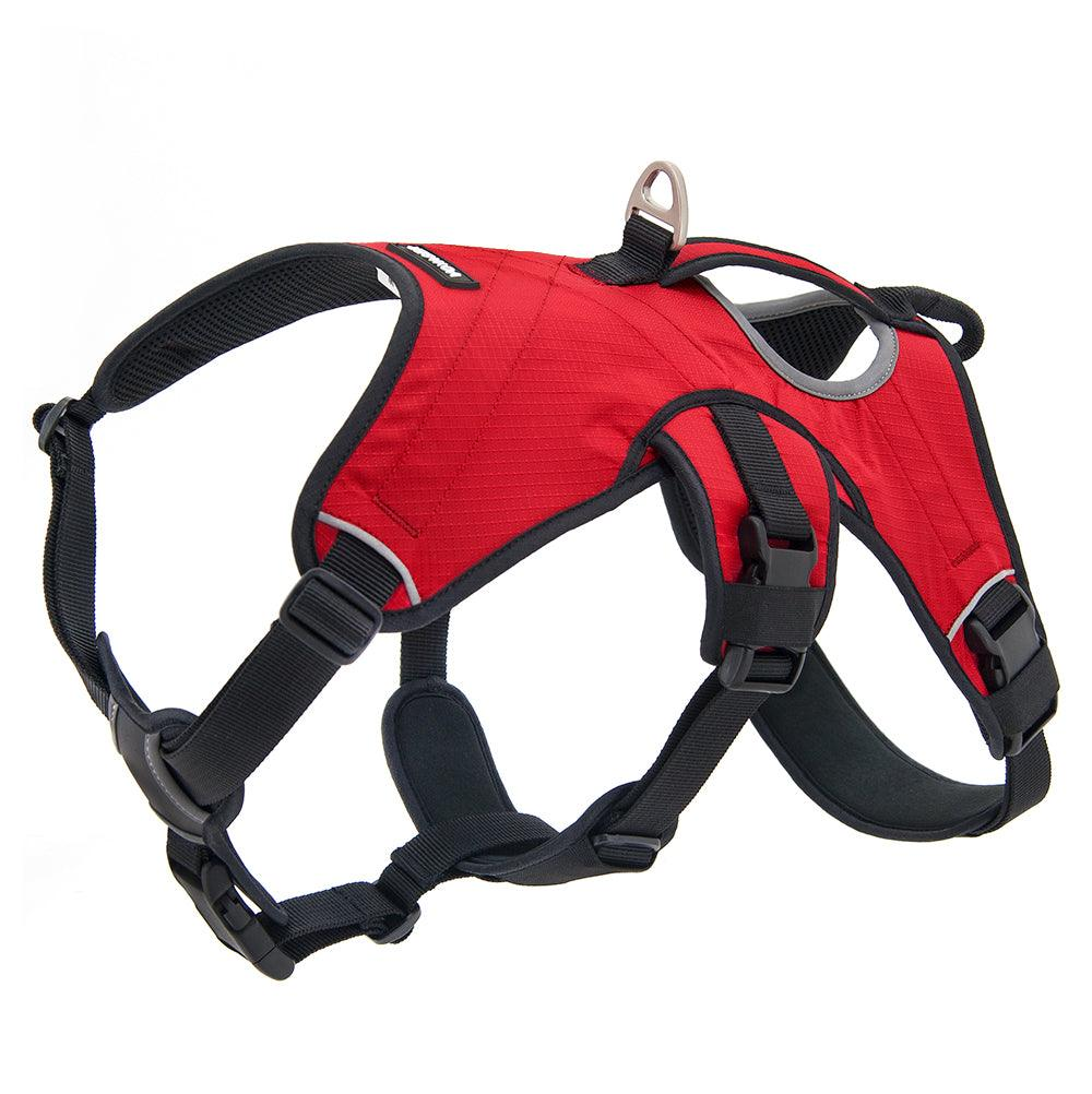 VOYAGER Control Dog Harness in Red - Expanded