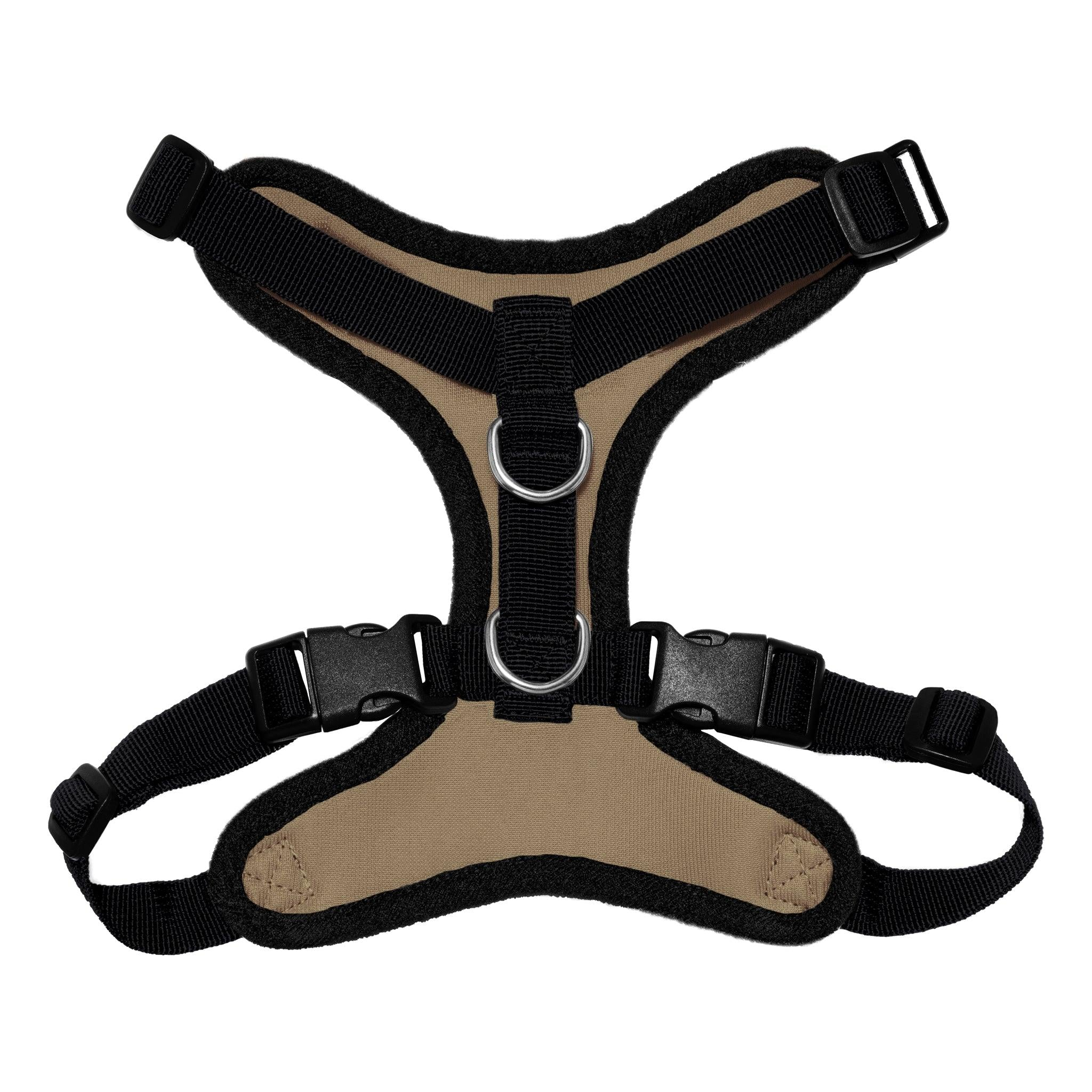 VOYAGER Step-In Lock Dog Harness in Camo with Black Trim and Webbing - Back