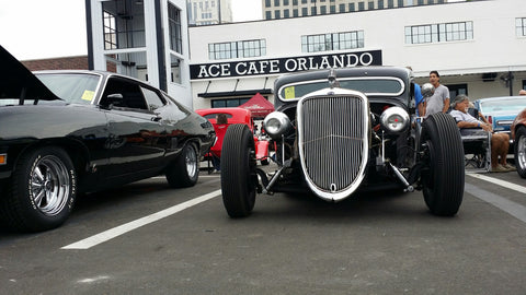 Recap A Taste From The ACE Cafe USA Preopening Car Show Blood - Car show orlando classic weekend