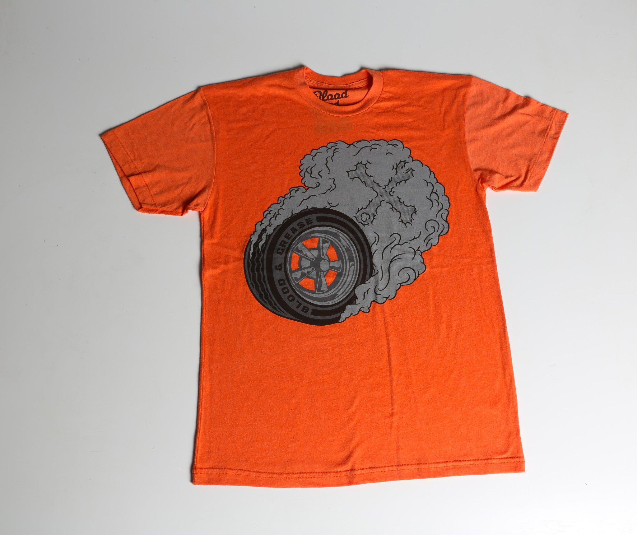 Tire Burner (Poly-Cotton: Heather Orange)