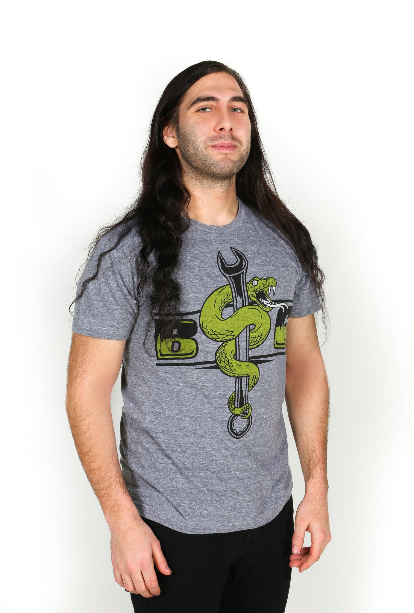 Serpent (Tri-blend: Athletic Grey)