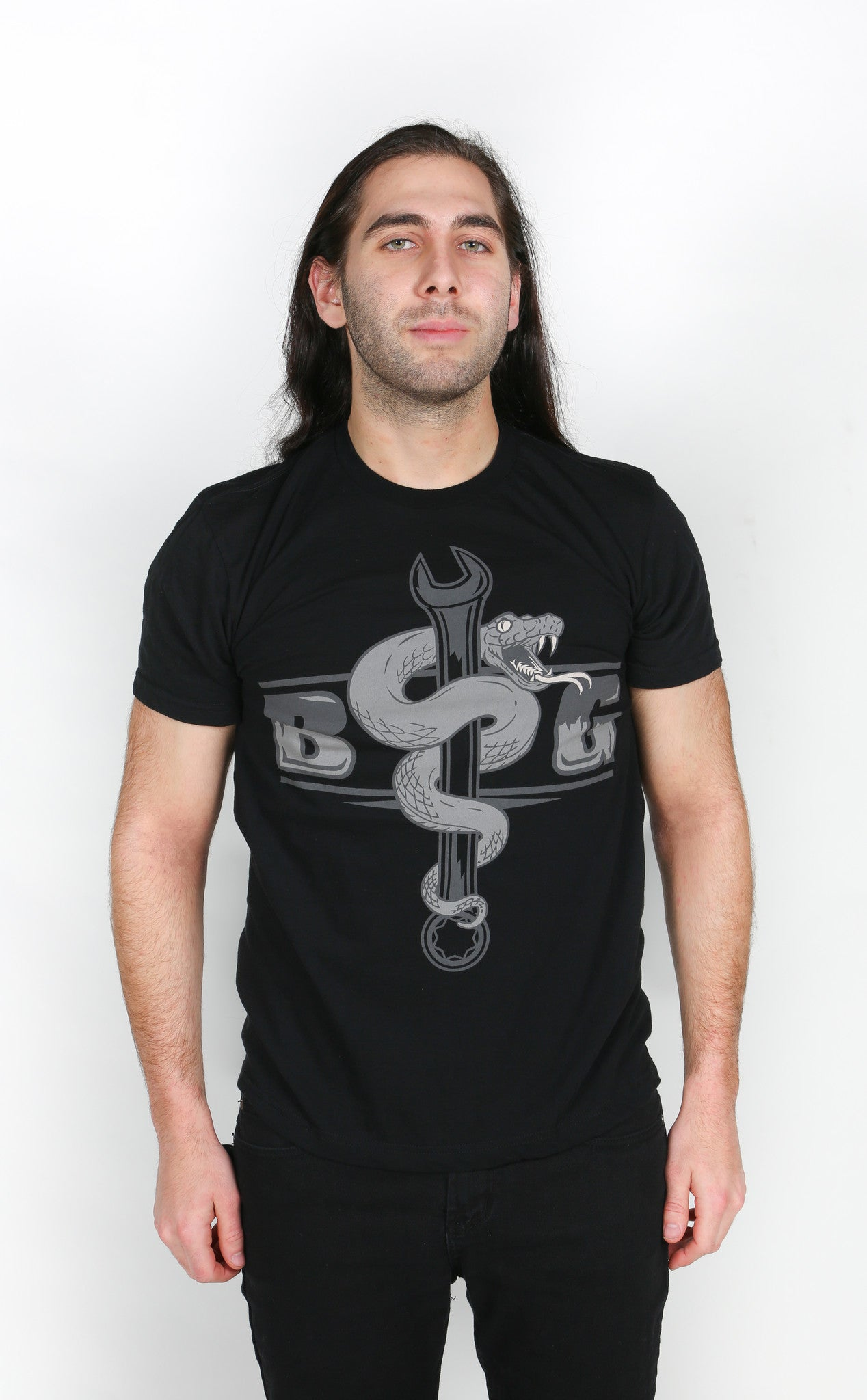 Serpent (Fine Jersey: Black)