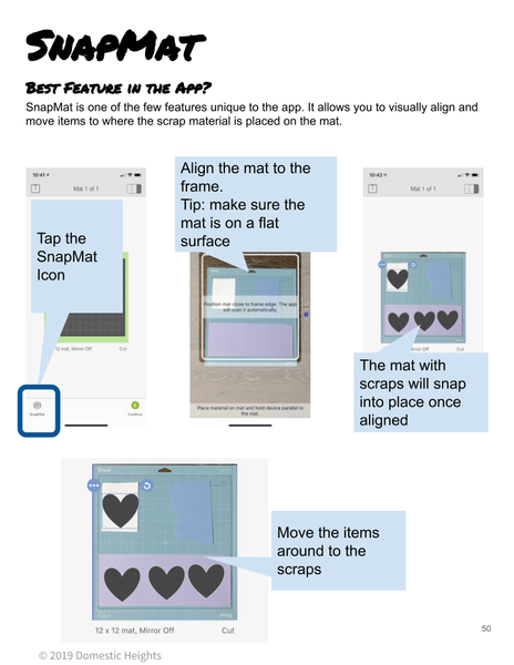 Cracking the Cricut - Reference Guide for Cricut Design Space