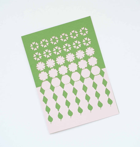 Floral Tessellation Card