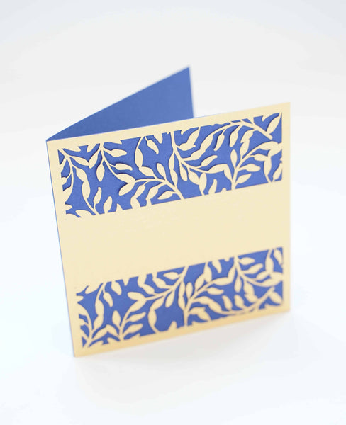 Leaves and Lace Card