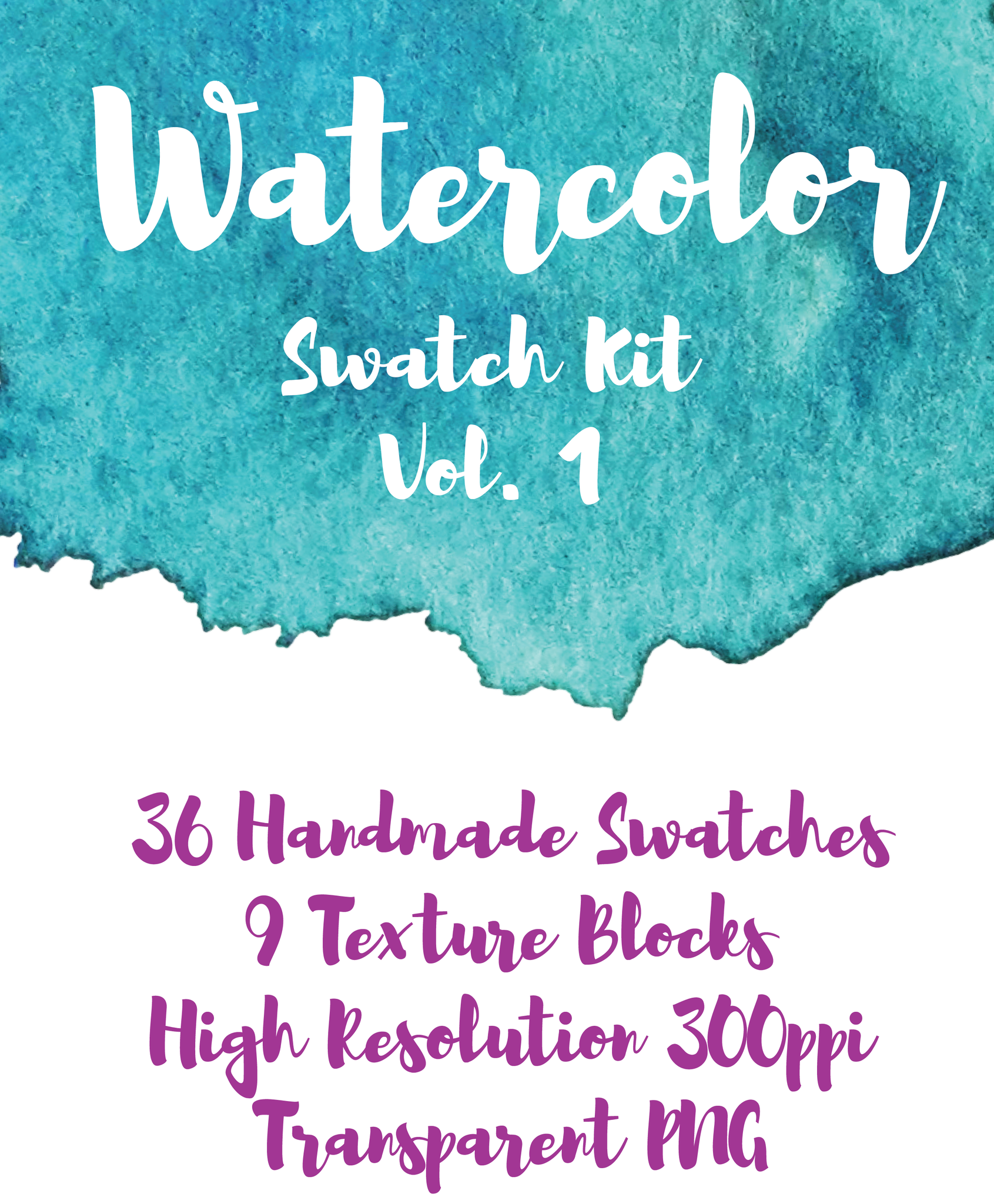 Watercolors Swatch Kit