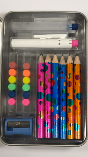 Build-A-Pencil Kit: Color Confetti