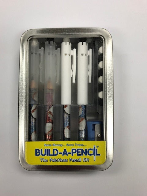 Pointless Pencil Kit (4 Pack): Baseball Blasters