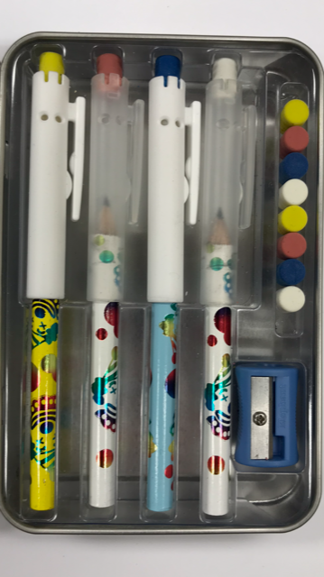 Pointless Pencil Kit (4 Pack): Party Clown