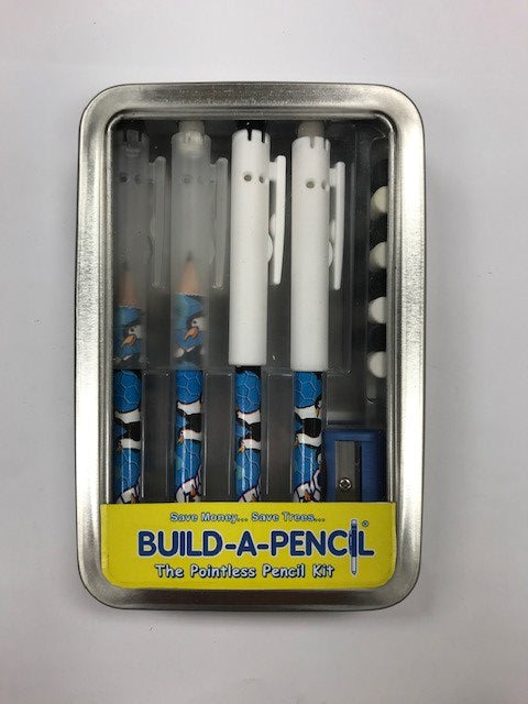 Pointless Pencil Kit (4 Pack): Penquin Party
