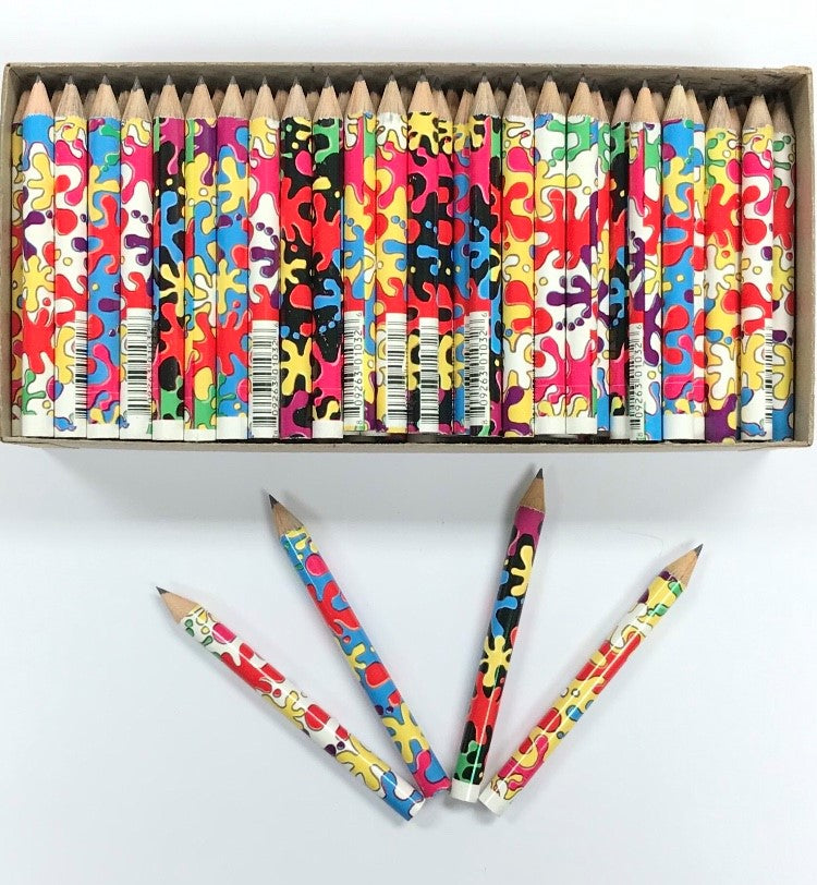 Decorated Pencils: Splatter Matter