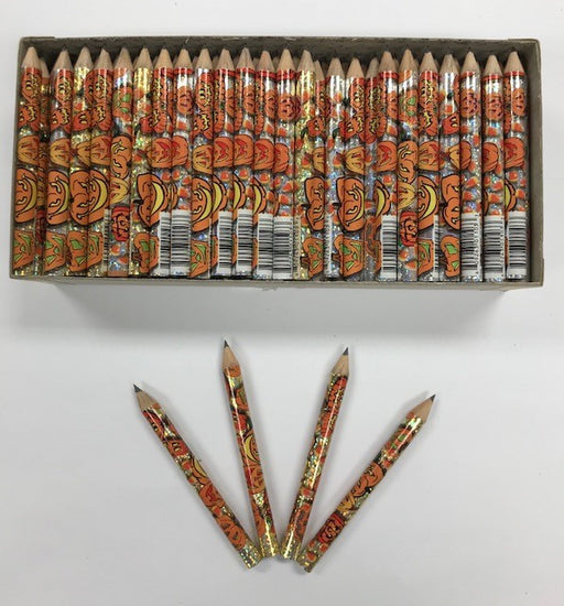 Decorated Pencils: Pumpkin Patch