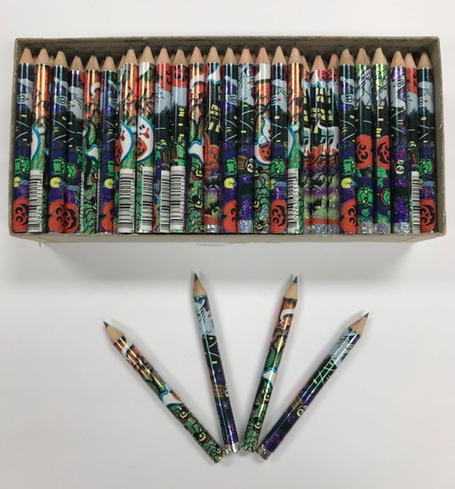 Decorated Pencils: Giggling Ghosts