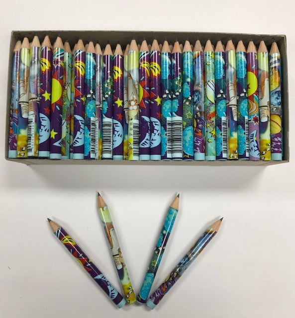 Decorated Pencils: Galaxy Galore