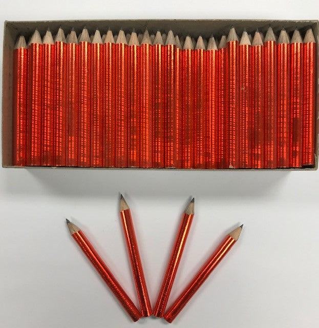 Decorated Pencils: Oodles Of Orange