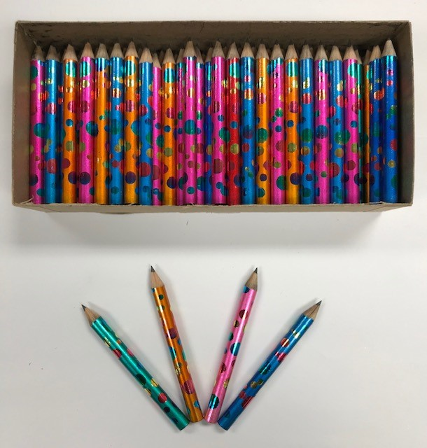Decorated Pencils: Color Confetti