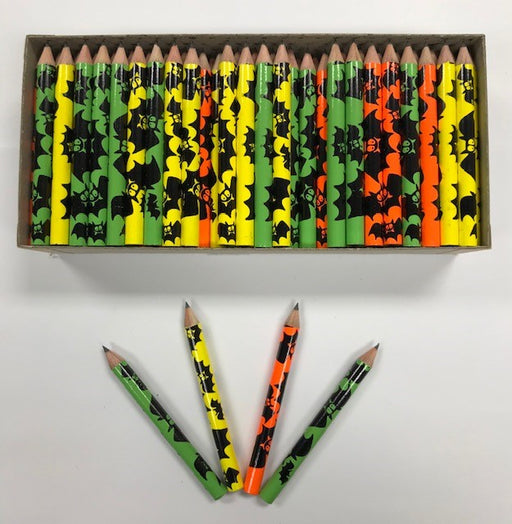 Decorated Pencils: Bats
