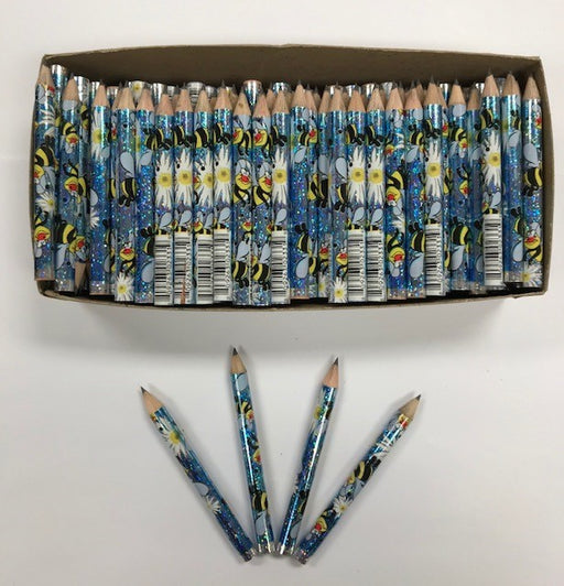 Decorated Pencils: Busy Bees