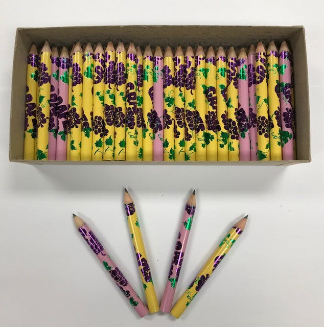 "Decorated Pencils: Grapes ""Scented"""