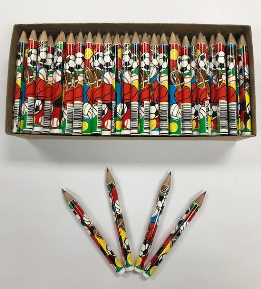 Decorated Pencils: Super Sports
