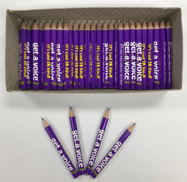 Decorated Pencils: Get A Voice