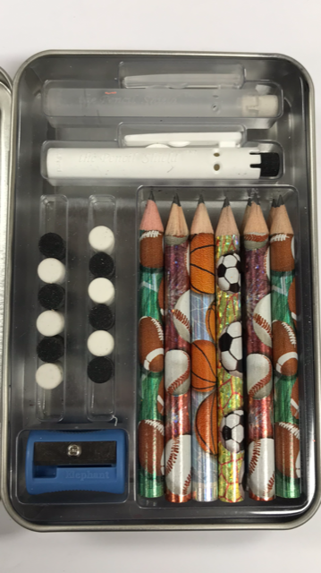 Build-A-Pencil Kit: Sports