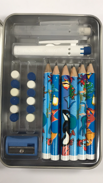 Build-A-Pencil Kit: Sealife