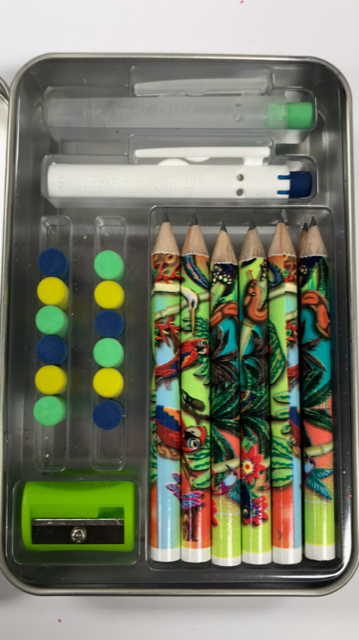 Build-A-Pencil Kit: Tropical Rainforest