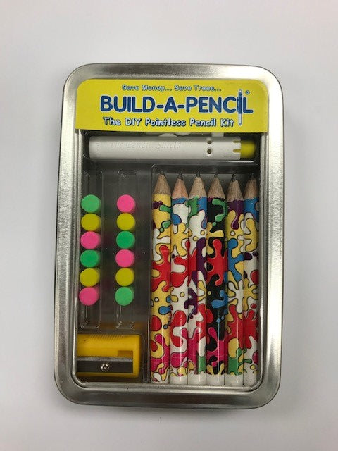 Build-A-Pencil Kit: Splatter Matter