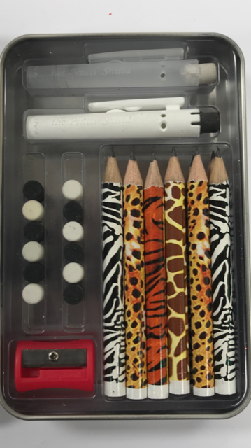 Build-A-Pencil Kit: Jungle Fever