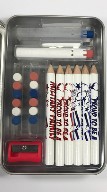 Build-A-Pencil Kit: Proud To Be A Military Family