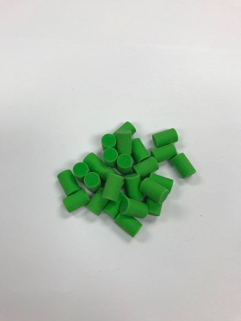 50 Piece Replacement Eraser Pack (Neon Green)