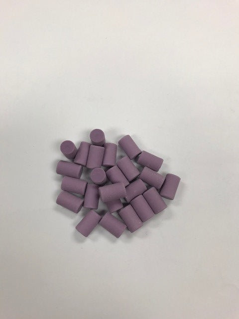 50 Piece Replacement Eraser Pack (Purple)