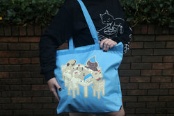 Dungeons and Dogs Tote Bag